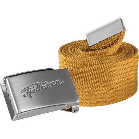 Fjallraven Unisex Övik Webbing Belt- Golden Yellow