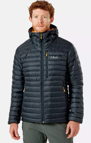Men's Rab Microlight Alpine Jacket - Grey