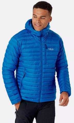 Men's Rab Microlight Alpine Jacket - Blue