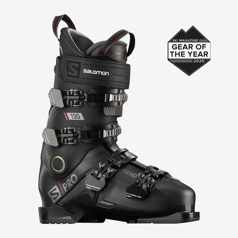 Salomon Ski Boots Men's S/Pro 120 Black/Red
