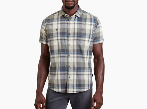Kuhl Men's Styk Short Sleeve Shirt- Shaded Meadow