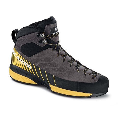 Scarpa Men's Mescalito Mid GTX Hiking Boot - Grey/Yellow