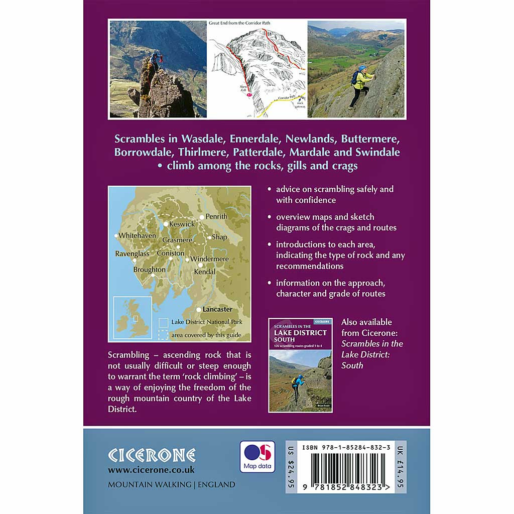 Cicerone Guide Book: Scrambles in the Lake District North