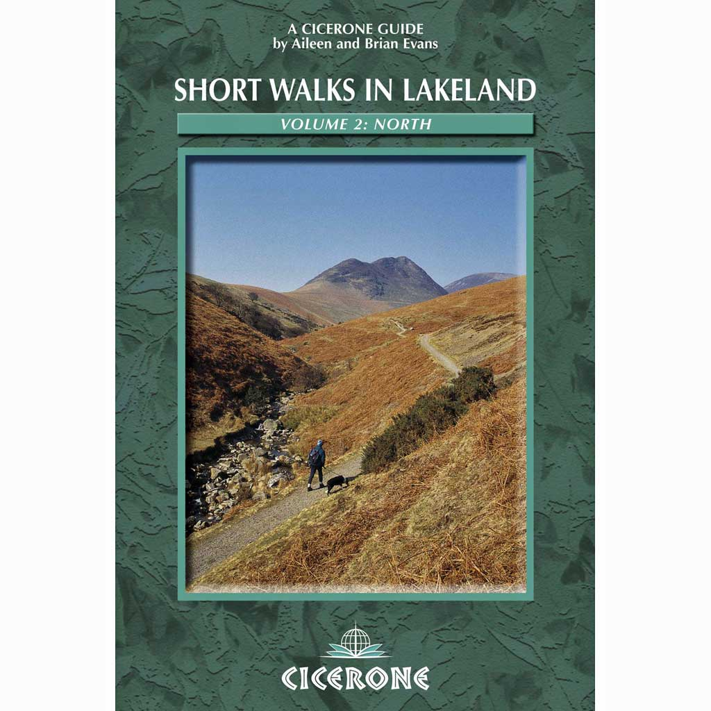 Cicerone Guide Book: Short Walks in Lakeland - V2: North