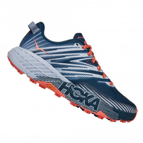 Hoka Women's Speedgoat 4 - Majolica Blue / Heather