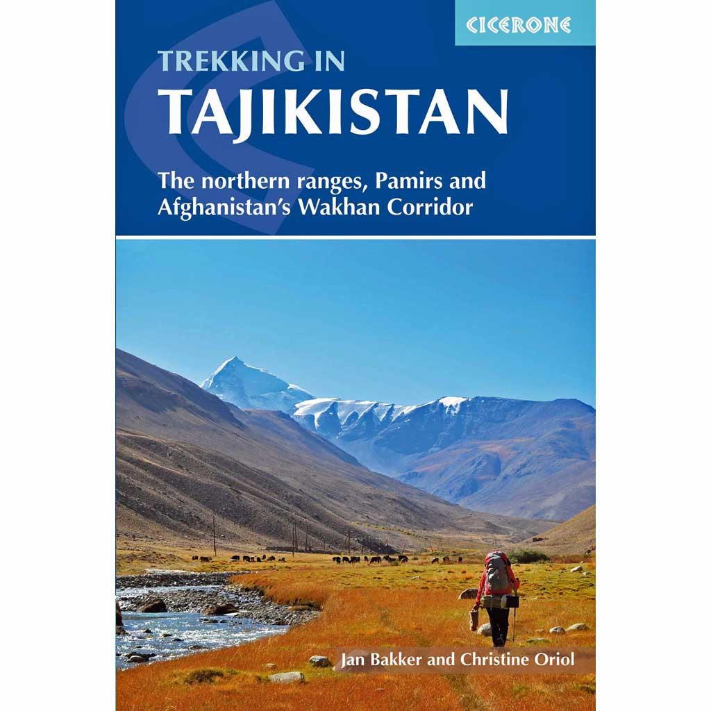 Cicerone Guide Book: Trekking in Tajikistan