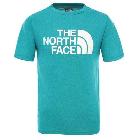 The North Face Kids' S/s Reaxion 2.0 Tee Boys - Green
