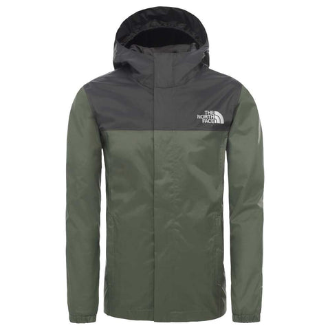The North Face Kids' Boys Resolve Rain Jacket - Green