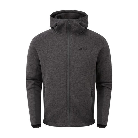 Men's North Ridge Atlas Textured FZ Jacket - Grey