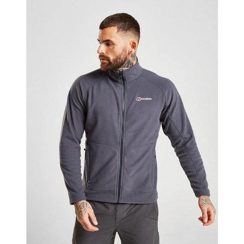 Men's Berghaus Hartsop Full Zip Fleece - Grey