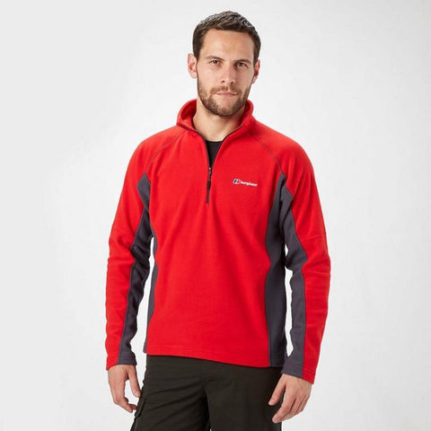 Berghaus Men's Hartsop Half Zip - Red