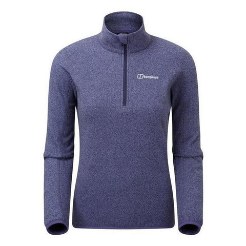 Women's Berghaus Hendra Half Zip Fleece - Blue