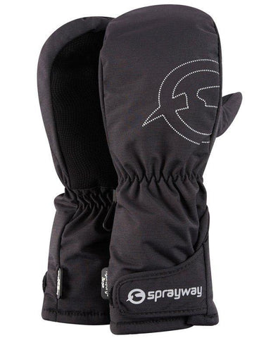 Sprayway Junior Hydro Dry Trek Mitt - Black