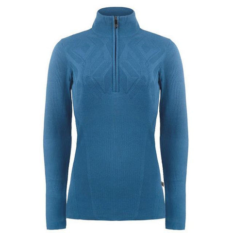 Poivre Blanc Women's Knit Sweater - Twilight Blue