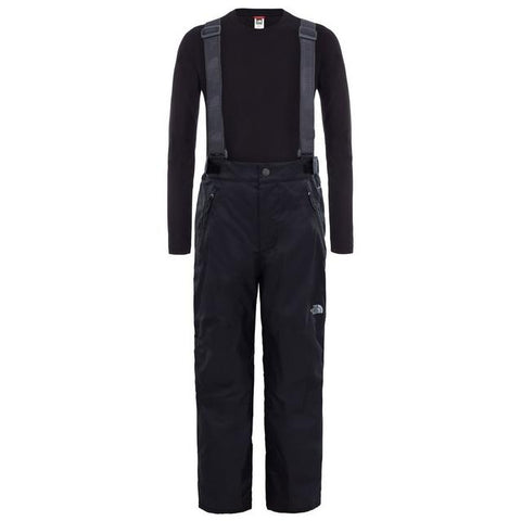 The North Face Kid's Snow Suspender Plus Pant - Black