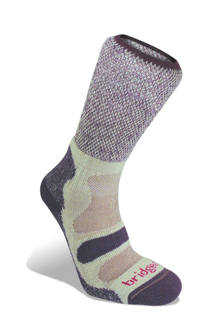 Bridgedale Women's Cotton Cool Hike Lightweight Socks