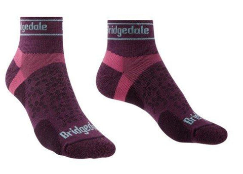 Bridgedale Women's Sport Ultralight T2 Low Sock - Purple