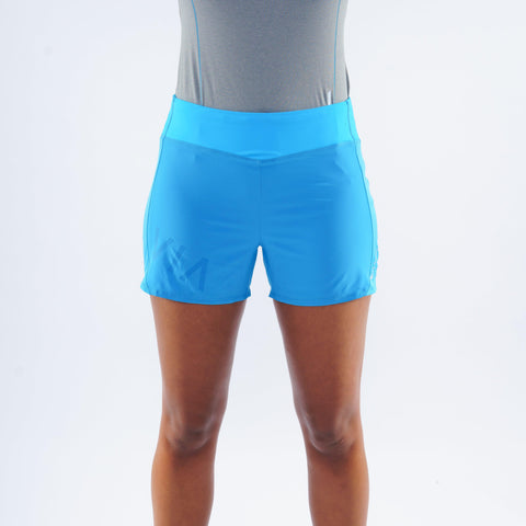 Montane Women's Katla Twin Skin Shorts - Blue