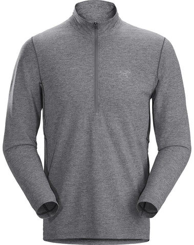 Arcteryx Men's Cormac Zip Neck LS - Grey