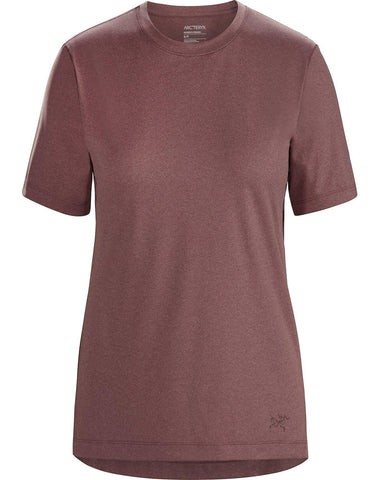 Arcteryx Women's Remige Short Sleeved T-Shirt - Purple