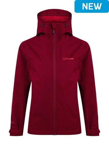 Berghaus Women's Fellmaster Waterproof Jacket - Red
