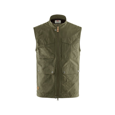 Fjallraven Men's Travellers MT Vest - Green