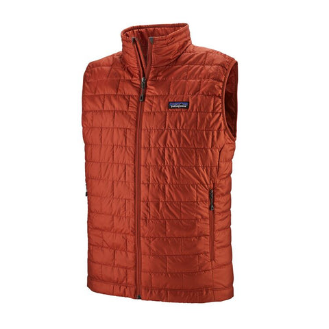 Patagonia Men's Nano Puff Vest- Roots Red
