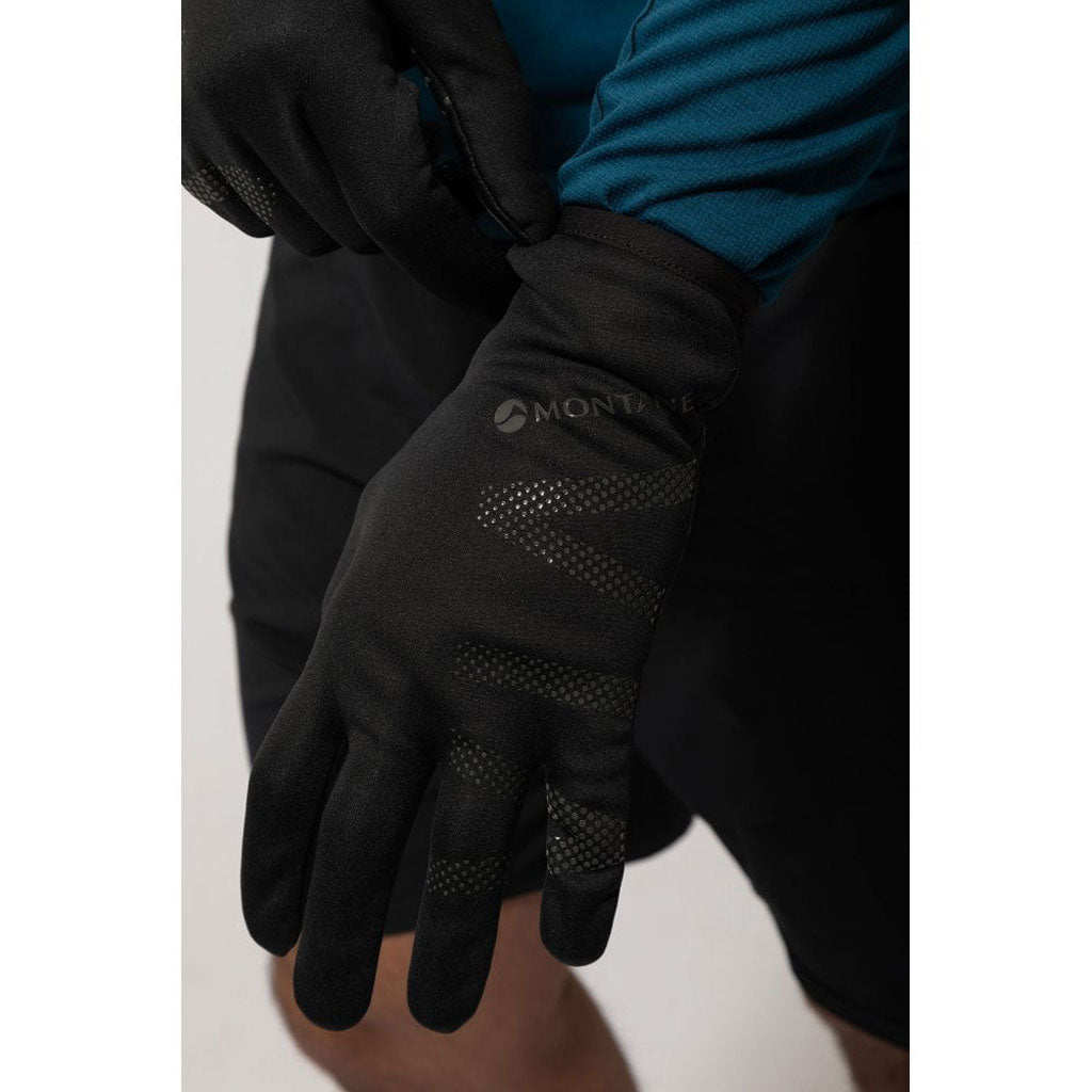 Montane Gloves Men's Via Groove Black/Shadow