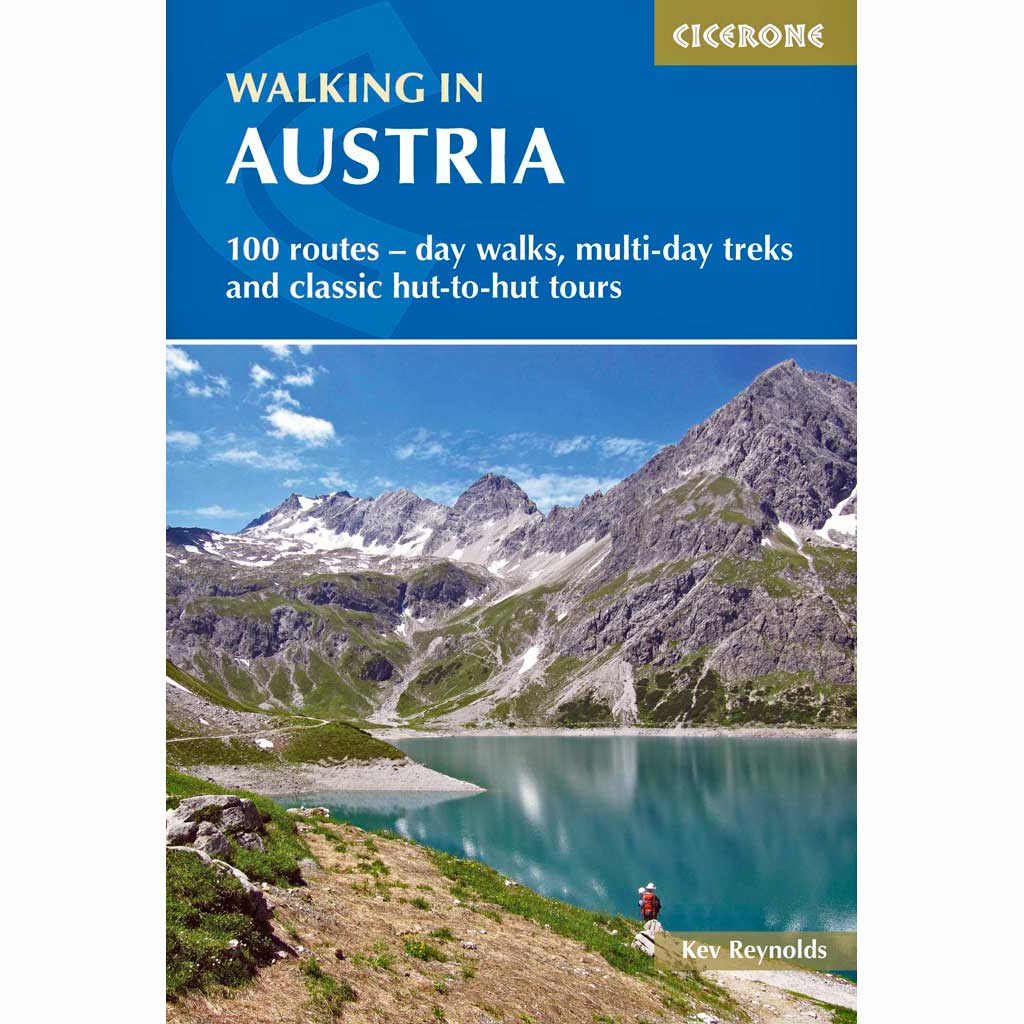 Cicerone Guide Book: Walking in Austria: Reynolds