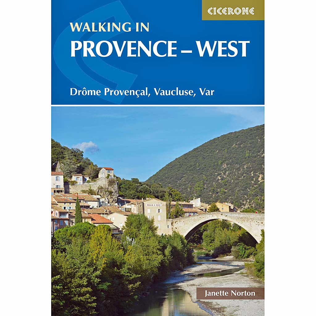 Cicerone Guide Book: Walking in Provence - West