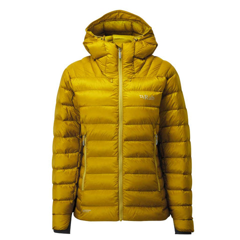 Rab INSULATED Jacket Women's Electron Down Dark Sulphur