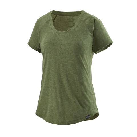 Patagonia Women's Capilene Cool Trail Shirt- Camp Green