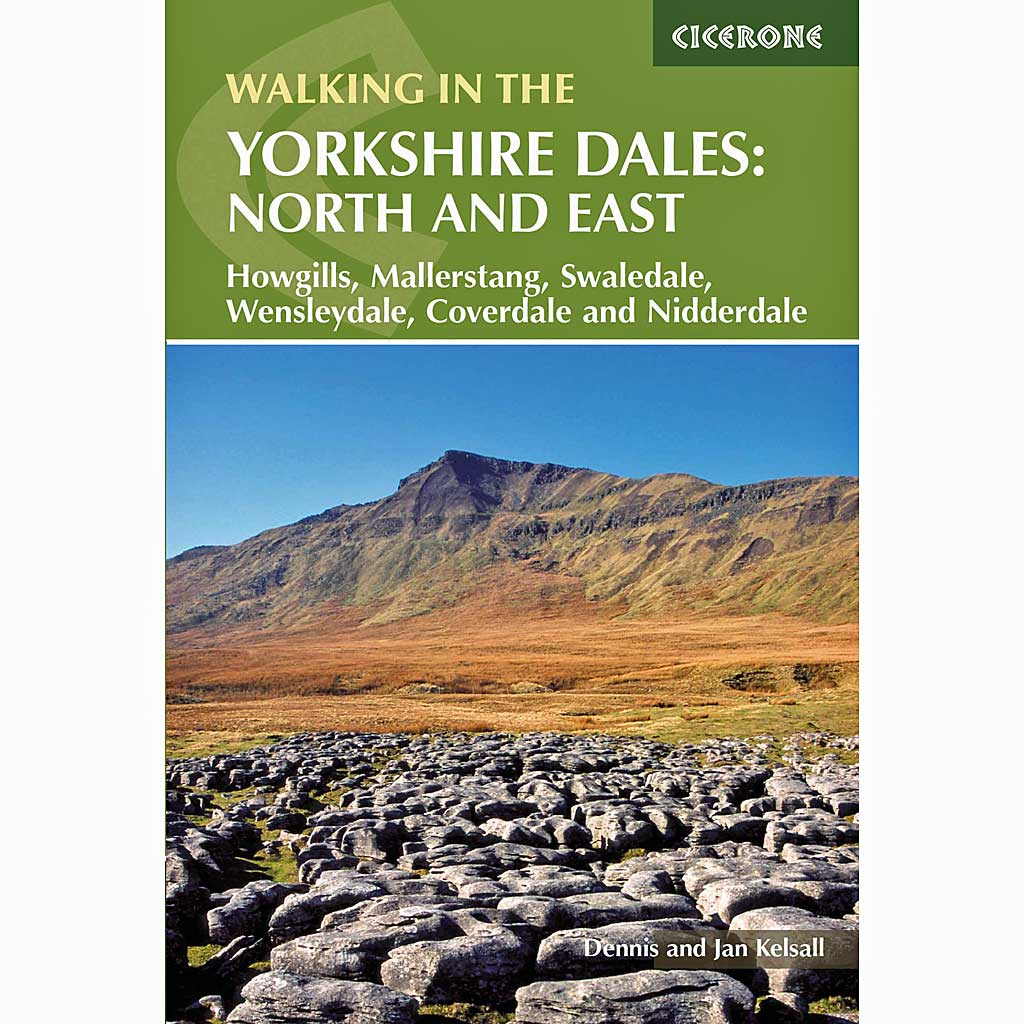 Cicerone Guide Book: Walking in The Yorkshire Dales: North and East
