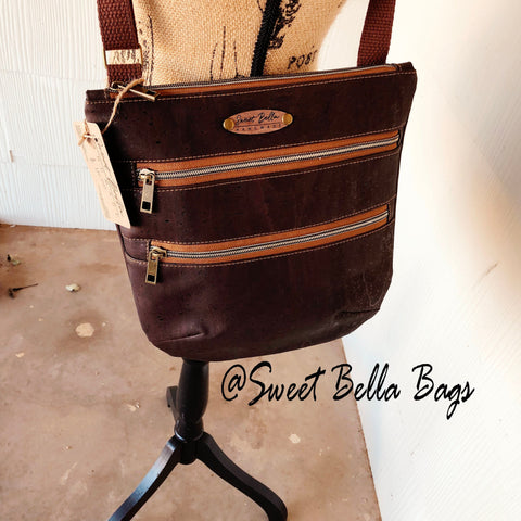 Crossbody Kamren In All Chocolate Cork