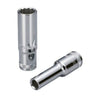 "1/2"" Dr. 12PT Deep Socket w/ Mirror Finish - Wadamart"
