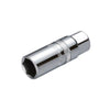 "1/2"" Dr. Spark Plug Socket W/ Mirror Finish - Wadamart"