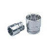 "1/4"" Dr. Spline Socket w/ Frosty Finish - Wadamart"