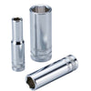 "3/8"" Dr. 6PT Deep Socket w/ Mirror Finish - Wadamart"