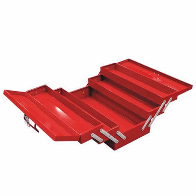 5 Tray Carry Box w/ Red Color - Wadamart