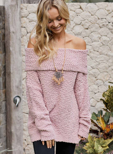 Off The Shoulder Comfy Sweater