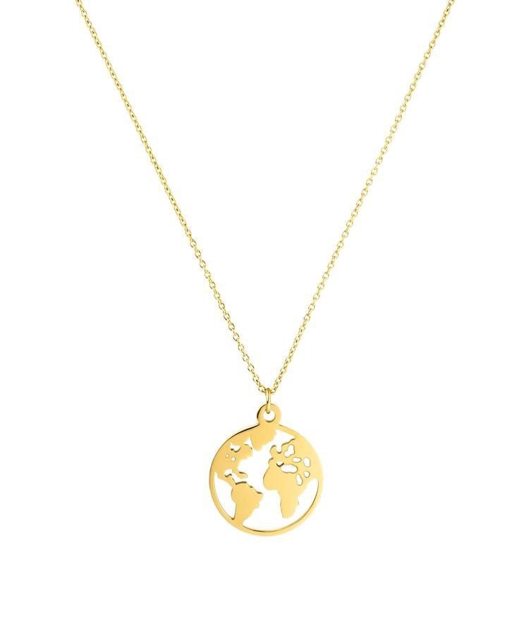 World Map | Necklace