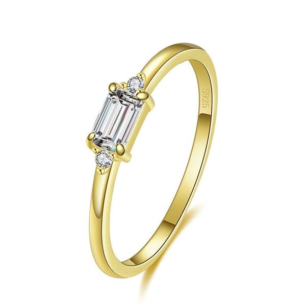 Notes of spring | Gold ring