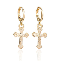 Earrings | Cross