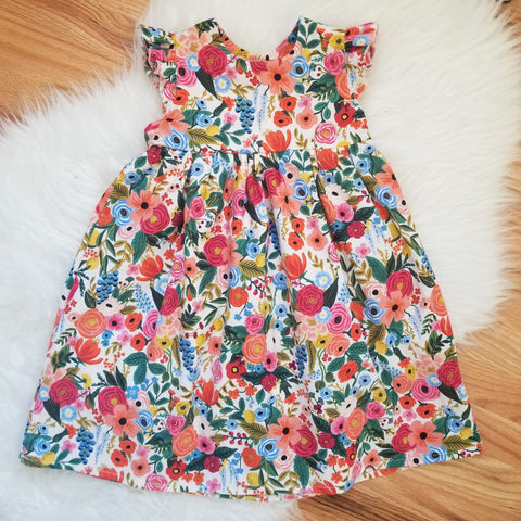 Rifle Paper Co. Spring Blooms Print Dress