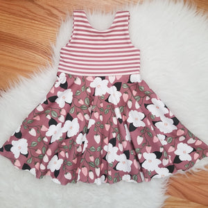 Tutti Frutti Strawberry Twirl Dress