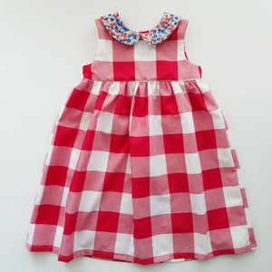 Red White and Blue Americana Dress