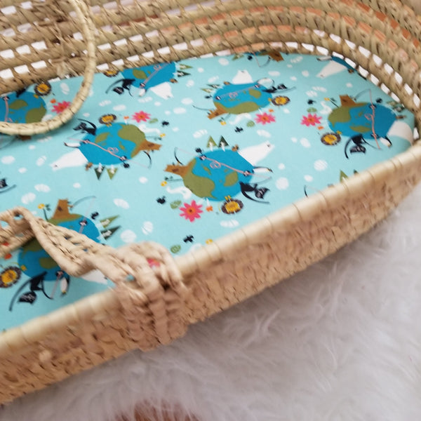 Love Your Mother (Earth) Baby Bedding