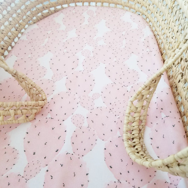 Pink Cactus Baby Bedding