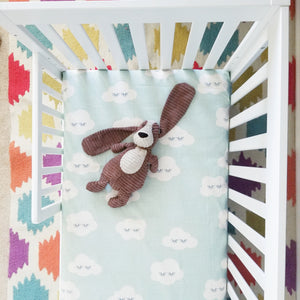 Boho Sleepy Clouds Baby Bedding