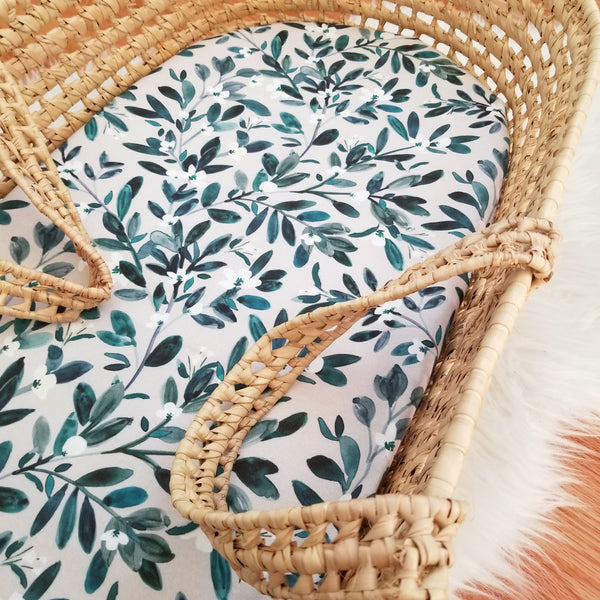 Boho Greenery Baby Bedding